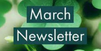 March Newsletter