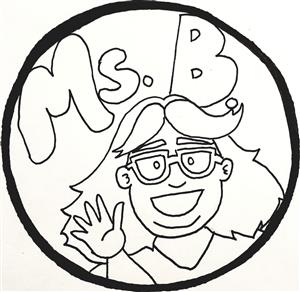Ms. B cartoon
